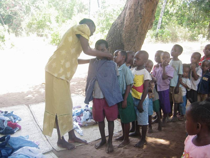 Clothing for Vulnarable and Orphans children 002